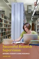 Successful Research Supervision PDF