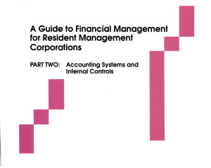 A Guide to Financial Management for Resident Management Corporations  Accounting systems and internal controls PDF