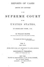 United States Reports: Cases Adjudged in the Supreme Court, Volume 9