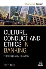 Culture  Conduct and Ethics in Banking PDF