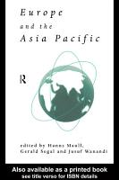 Europe and the Asia Pacific PDF