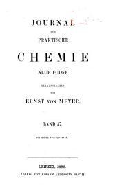 Journal für praktische Chemie: Band 145
