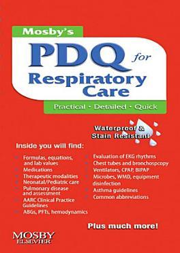 Mosby s Respiratory Care PDQ   E Book PDF