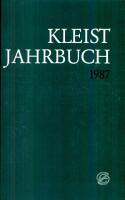 Kleist Jahrbuch 1987 PDF