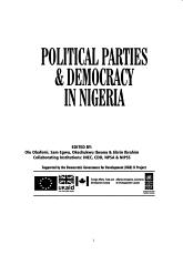 Political Parties   Democracy in Nigeria PDF