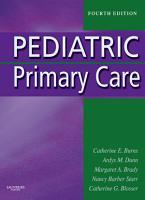 Pediatric Primary Care   Pageburst on VitalSource PDF