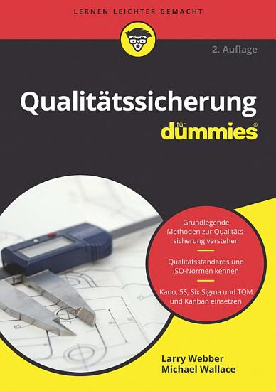 Qualit  tssicherung f  r Dummies PDF