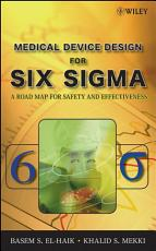 Medical Device Design for Six Sigma PDF