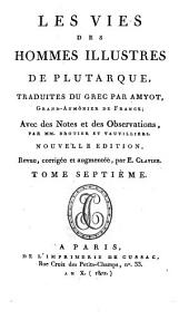 Oeuvres de Plutarque ...