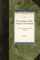 Proceedings of the Naval Court Martial PDF