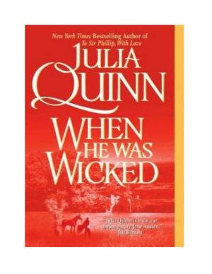 When He Was Wicked (Bridgerton Series, Book 06)