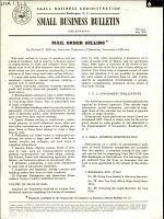 Mail Order Selling PDF