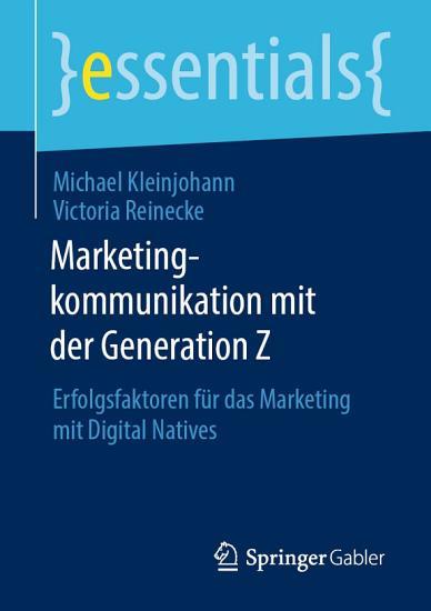 Marketingkommunikation mit der Generation Z PDF