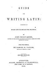 Guide for Writing Latin