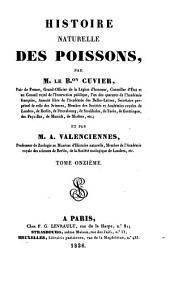 Histoire naturelle des poissons: Volume11