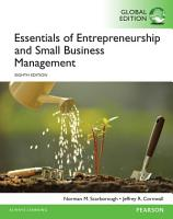 Essentials of Entrepreneurship and Small Business Management  eBook  Global Edition PDF