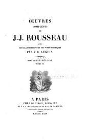 Oeuvres complètes de J.J. Rousseau: Volume9