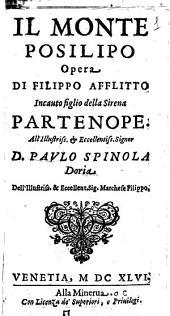 Il monte Posilipo opera di Filippo Afflitto incauto figlio della Sirena Partenope. ..