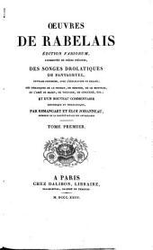 Œuvres de Rabelais: Volume1