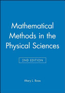 Mathematical Methods in the Physical Sciences  Solutions Manual PDF