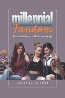 Millennial Fandom PDF