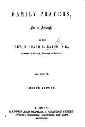 Family Prayers     Second edition PDF