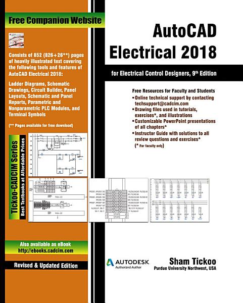 AutoCAD Electrical 2018 for Electrical Control Designers  9th Edition PDF