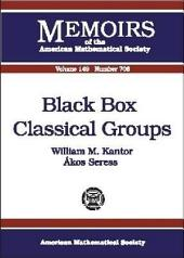 Black Box Classical Groups: Issue 708