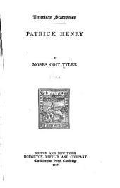 Patrick Henry: Volume 3