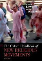 The Oxford Handbook of New Religious Movements PDF
