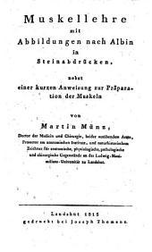 Handbuch der Anatomie des menschlichen Körpers ...