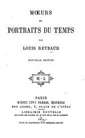 Moeurs et portraits du temps