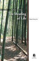 The Meaning of Life PDF