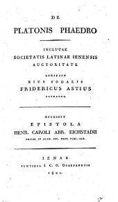 De Platonis Phaedro