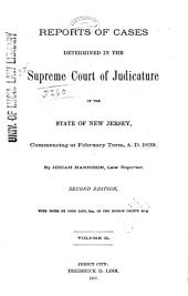 New Jersey Law Reports: Volume 17