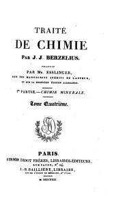 Traité de chimie minérale, végétale et animale ...
