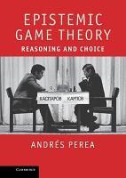 Epistemic Game Theory PDF