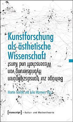 Kunstforschung als   sthetische Wissenschaft PDF