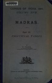 Census of India, 1901: 第 15 卷,第 2-3 部分