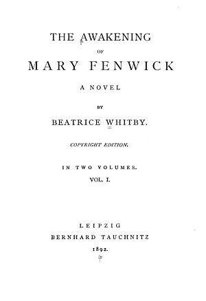 The Awakening of Mary Fenwick