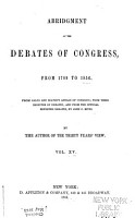 Abridgment of the Debates of Congress  from 1789 to 1856  Dec  4  1843 June 18  1846 PDF