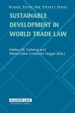 Sustainable Development in World Trade Law