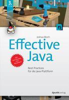 Effective Java PDF