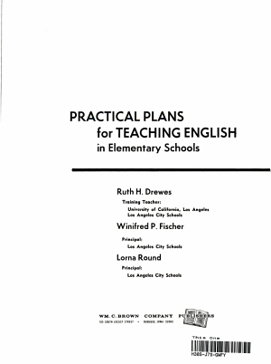 Practical Plans for Teaching English