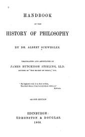 Handbook of the History of Philosophy