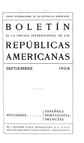 Boletín de la Oficina internacional de las repúblicas americanas: Número 27