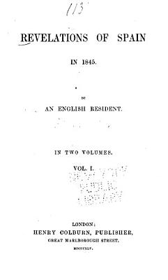 Revelations of Spain in 1845