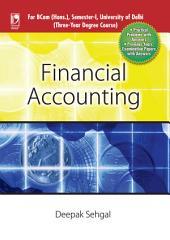 Financial Accounting (For Delhi University, Sem. I)