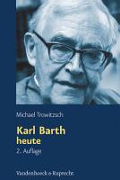 Karl Barth heute PDF