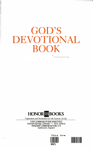 God s Devotional Book for Mothers PDF